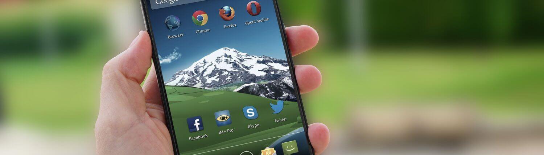 Apps voor onderweg op mobiele telefoon