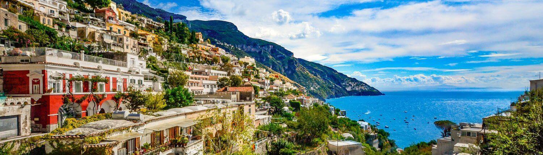 Italië Amalfi kust Positano uitzicht