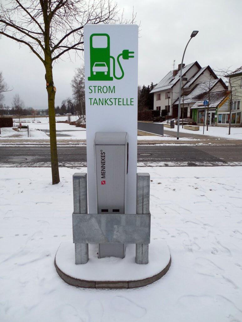 Laadpaal Wintersport Duitsland