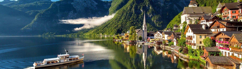 Oostenrijk Hallstatt dorp Bergsee