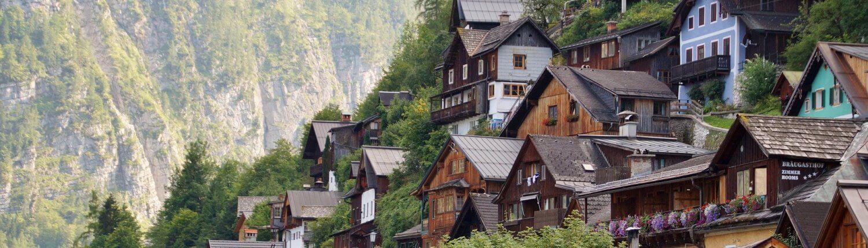 Oostenrijk dorpje Hallstatt