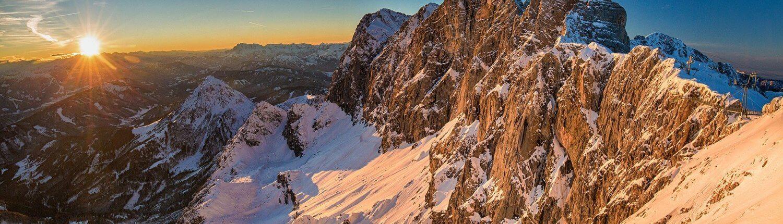 Oostenrijk uitzicht bergen