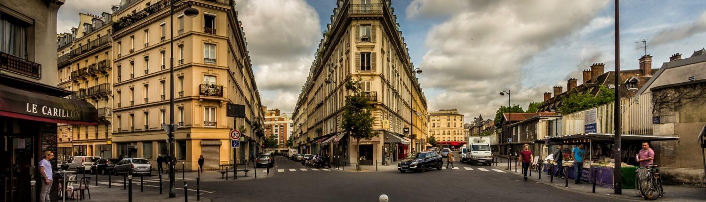 Elektrische auto naar Parijs