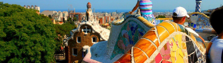 Spanje Gaudi Park Guell