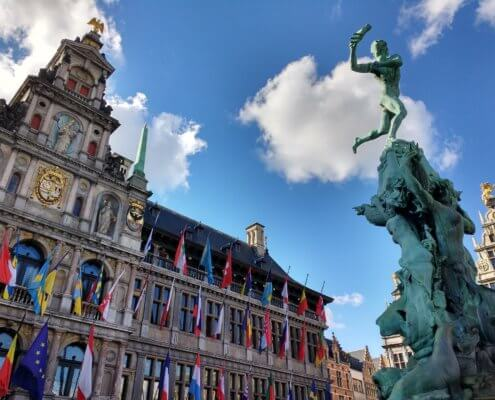 Stedentrip Antwerpen Elektrische Autovakanties