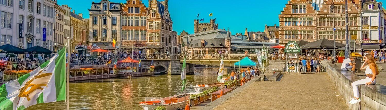 Stedentrip Gent Elektrische Autovakanties