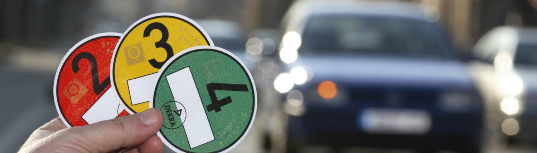 Milieusticker in Duitsland voor elektrische auto