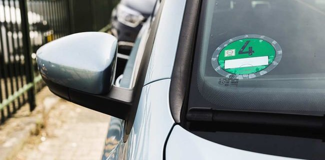 Groene Milieusticker in Duitsland voor elektrische auto's