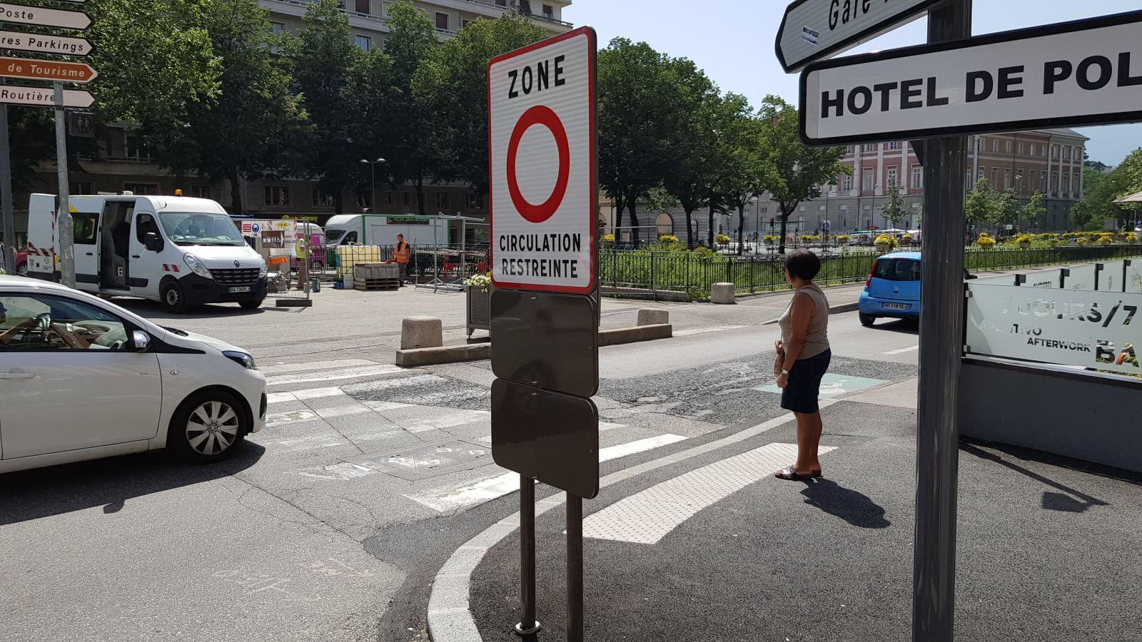 Milieuzones in Frankrijk van toepassing op elektrische auto's?