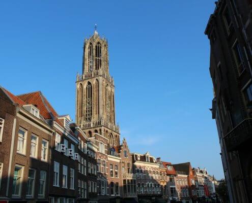 Elektrische auto naar Utrecht - Domtoren