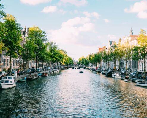 Amsterdam Stedentrip Elektrische Auto