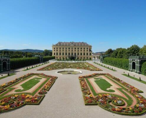 Elektrische auto naar Wenen