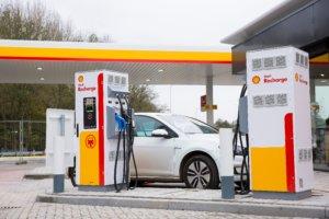 Shell Recharge Netwerk - Elektrische Autovakanties