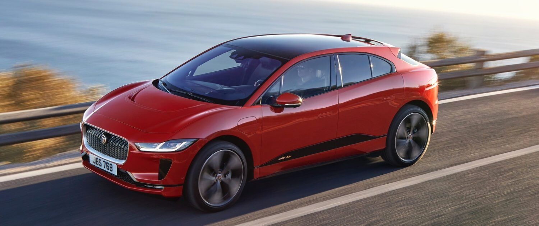 Jaguar iPace in Portugal