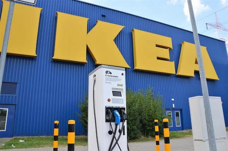 Gratis snellader IKEA Duitsland