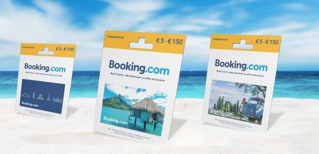 Cadeautip 5: Booking.com cadeaukaart