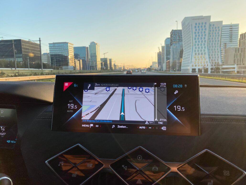 Navigatie DS 3 CrossBack E-Tense