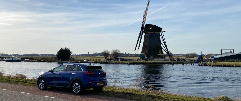 Elektrische auto naar Den Haag
