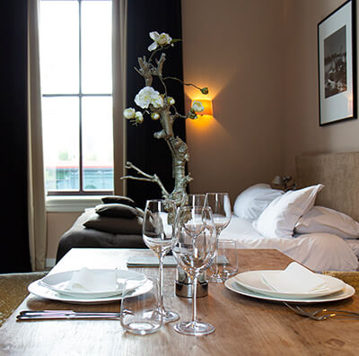 Suitehotel Pincoffs - Gastrobar Ster culinair eten op de kamer