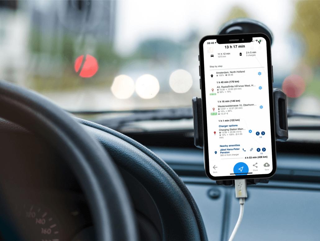 A Better Routeplanner voor het plannen van je vakantie met de elektrische auto
