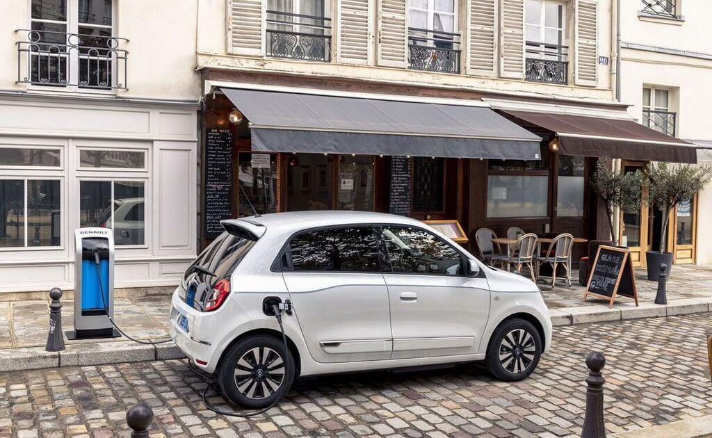 Elektrische auto opladen in Frankrijk