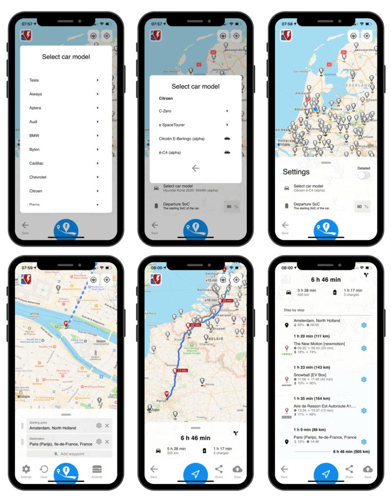 Hoe werkt A Better Routeplanner (ABRP)?