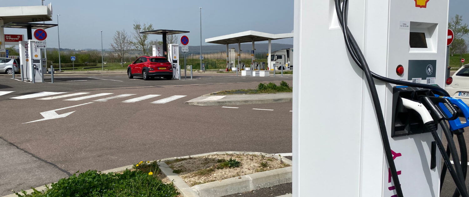 Shell Aire de Langres-Perrogney Ionity snelladers