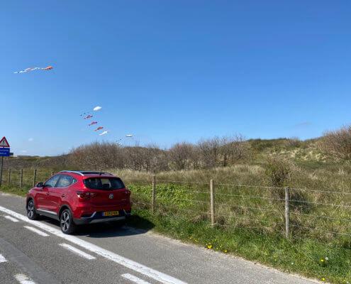 Weekend naar de Belgische kust met een MG ZS EV