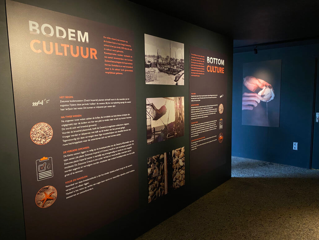 Gratis mini museum bij de Oesterij in Yrseke
