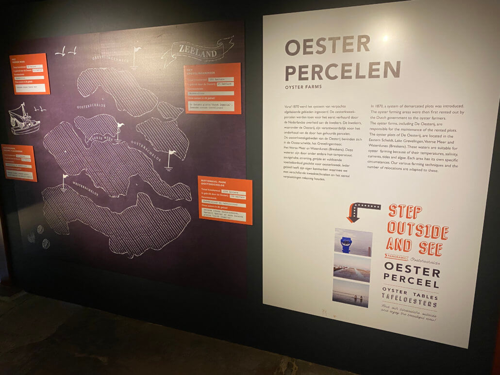 Mini museum bij de Oesterij in Yrseke