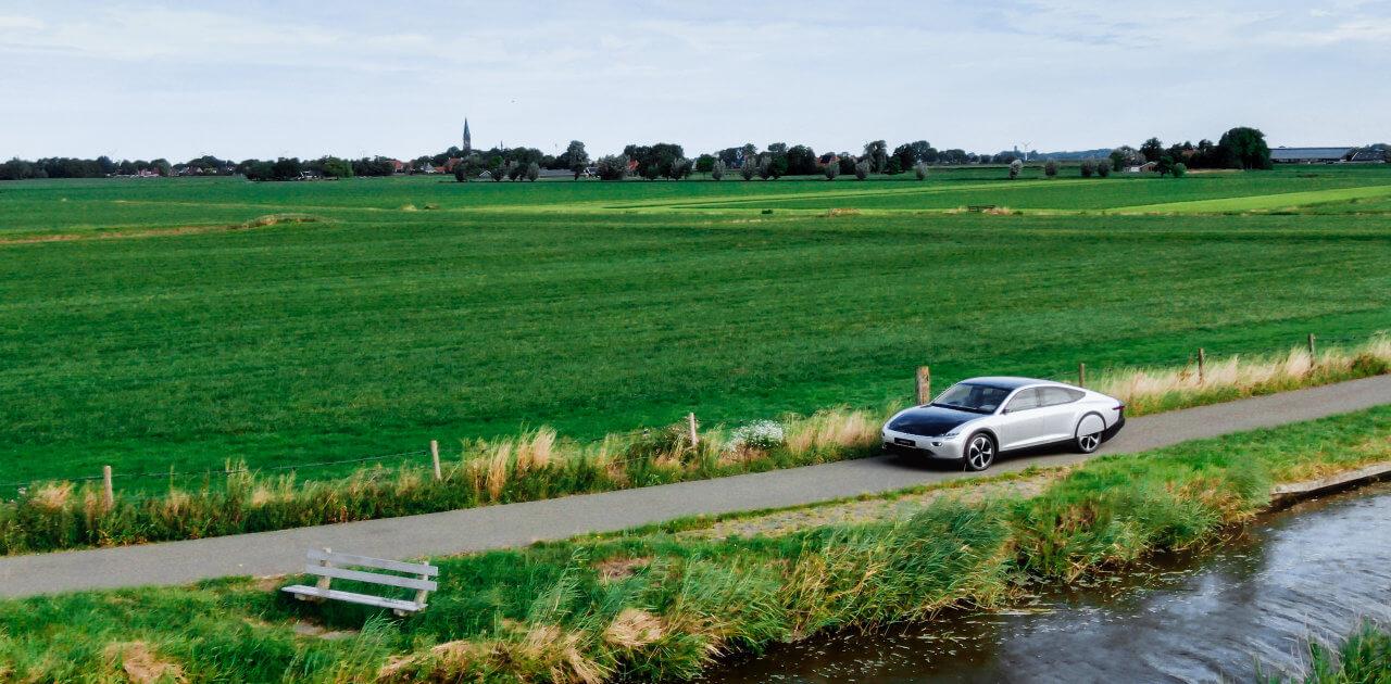 Lightyear One op de weg in Nederland