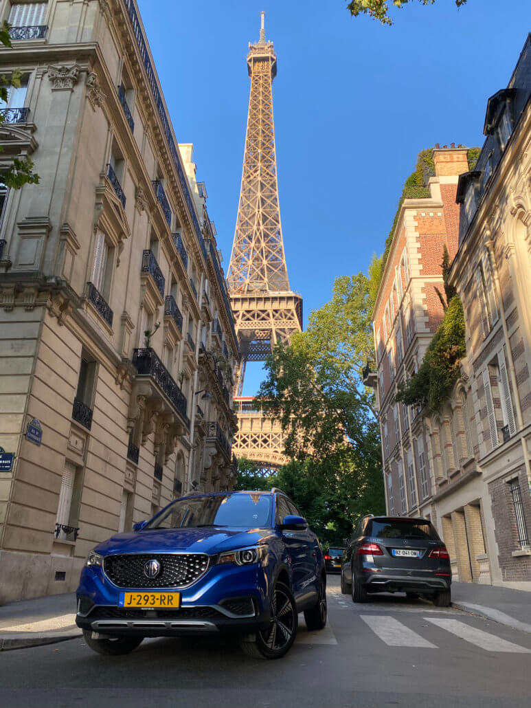 Total Energies Aire de Ressons Est onderweg naar Parijs