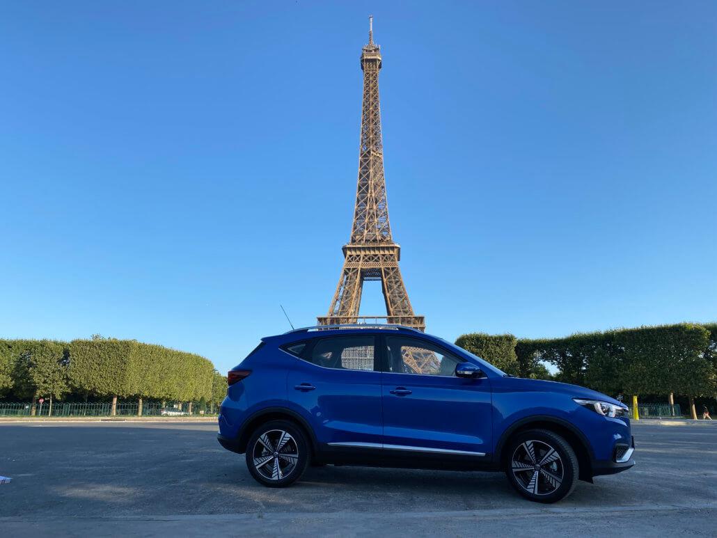 Review: Weekend met de elektrische auto naar Parijs