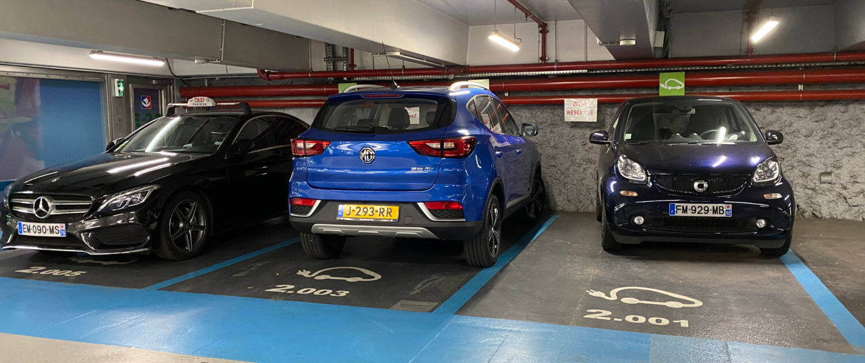 Oplaadpunten in Parking Indigo Paris Ternes