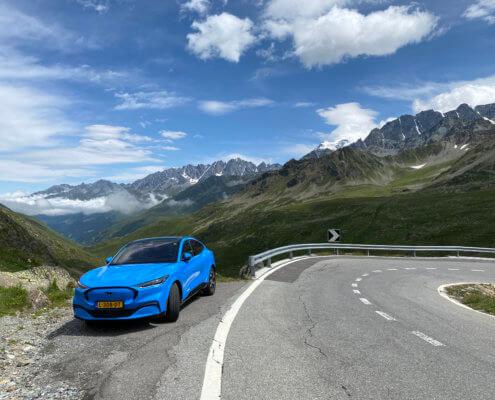 Review: Met de elektrische auto naar Zwitserland