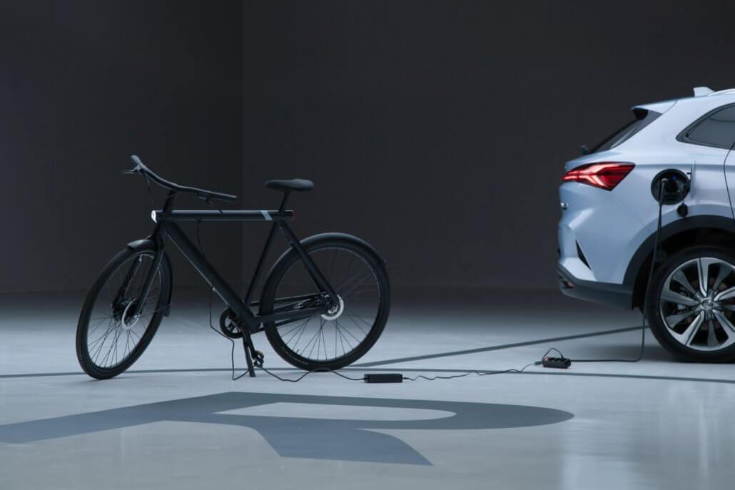 Marvel R vehicle-to-load elektrische fiets