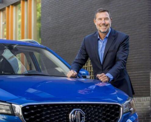 Mike Belinfante, Senior Manager Public Relations bij MG Motor Europe