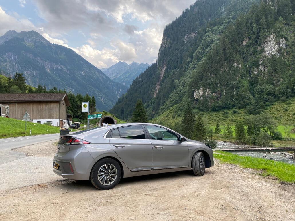 Hyundai IONIQ Electric in Oostenrijk