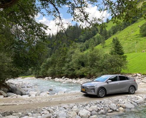 Review: Met de elektrische auto naar Oostenrijk