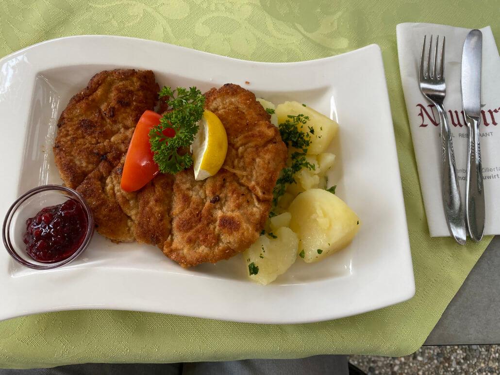 Typisch Oostenrijks eten bij Hotel Neuwirt